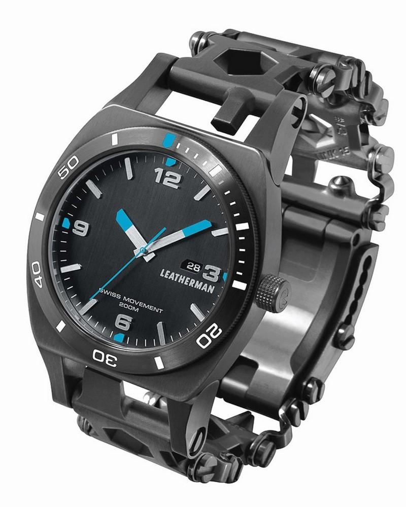 Leatherman Tread Plus Watch Black -  black