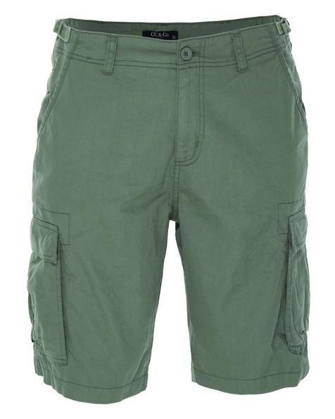 CU & Co Men's Callum Shorts -  olive