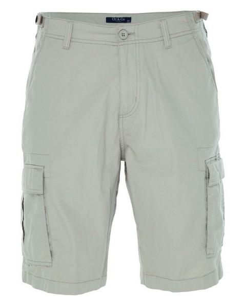 CU & Co Men's Callum Shorts -  stone
