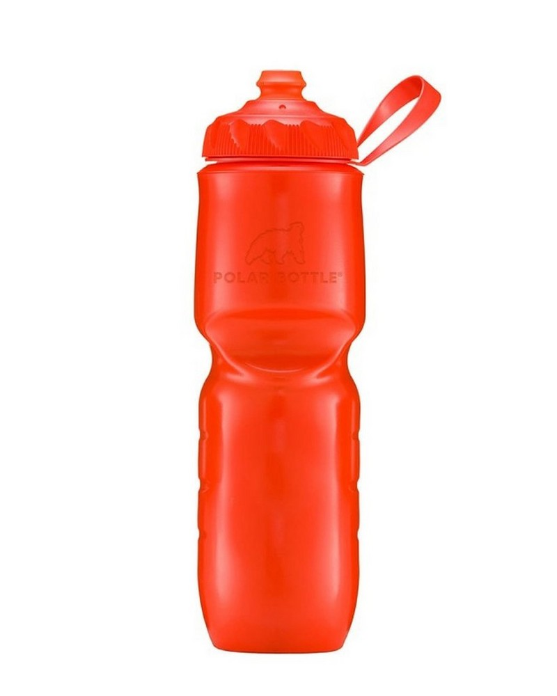 Polar Zipstream 24oz Insulated Waterbottle -  red