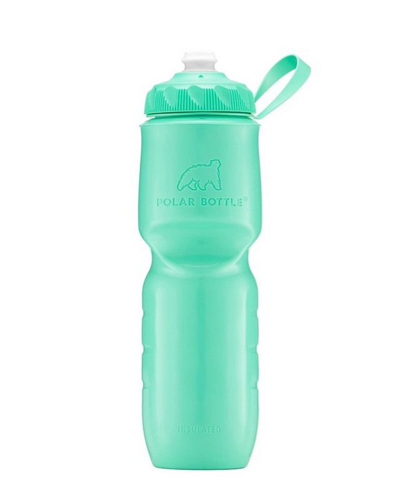 Polar Zipstream 24oz Insulated Waterbottle -  mint