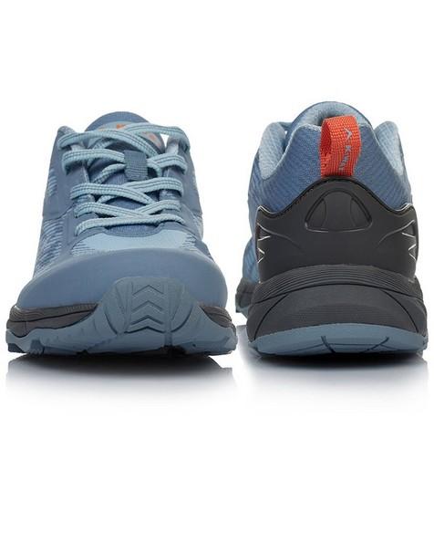 K-Way Women's Apex Shoes -  lightblue-charcoal