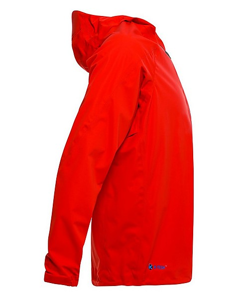 K-Way Men's Dash Shell Jacket -  tomato
