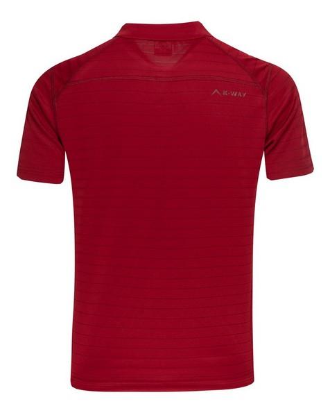 K-Way Men's Seth Golfer  -  red