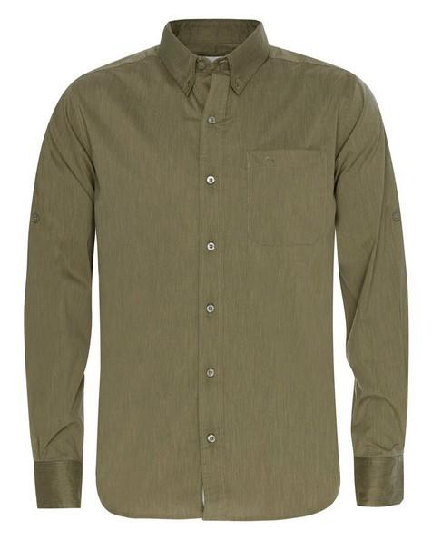K-Way Men's Explorer Rawda Long Sleeve Shirt -  olive