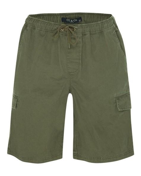 CU & Co Men's Sabie Short -  olive