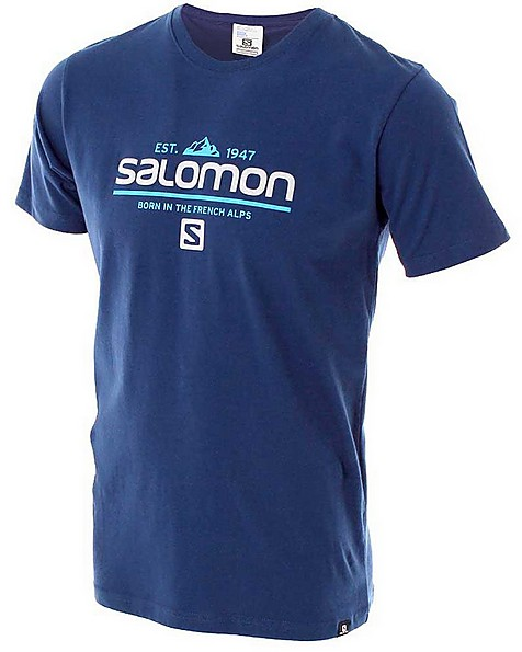 Salomon Men's Visionary Short Sleeve Tee -  airforce