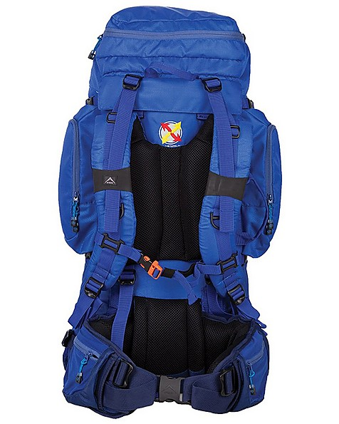 K-Way Adventure 60L Hiking Pack -  blue-blue