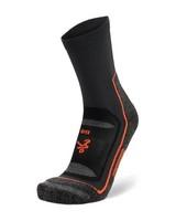 Balega Unisex Blister Resist Crew Socks -  grey-orange