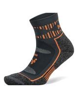 Balega Unisex Blister Resist Quarter Socks -  grey-orange