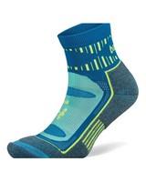 Balega Unisex Blister Resist Quarter Socks -  aqua-blue