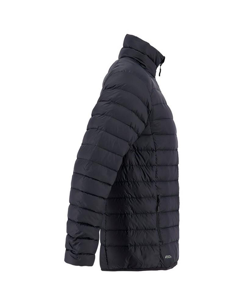 K-Way Men's Drake '18 Down Jacket  -  black-black