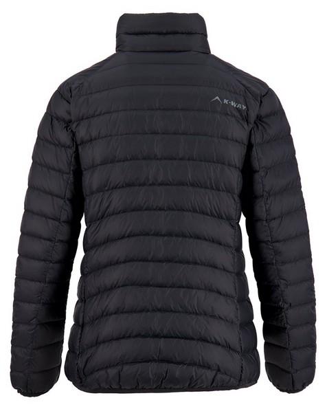 K-Way Women's Swan '18 Down Jacket -  black