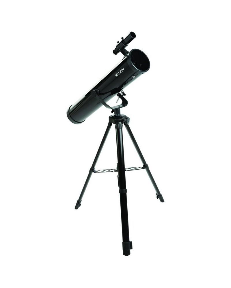 Malkin Newtonian 35x-78x Telescope -  black