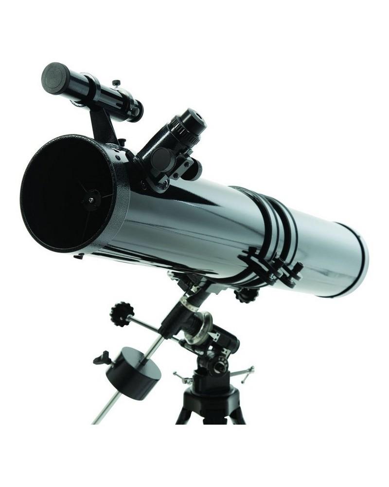Malkin Newtonian 45x-100x Telescope -  black