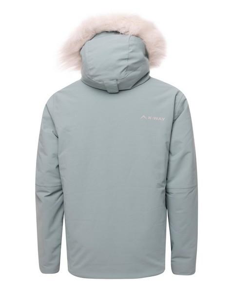 K-Way Youth Haukea Ski Jacket  -  duck-egg-silver