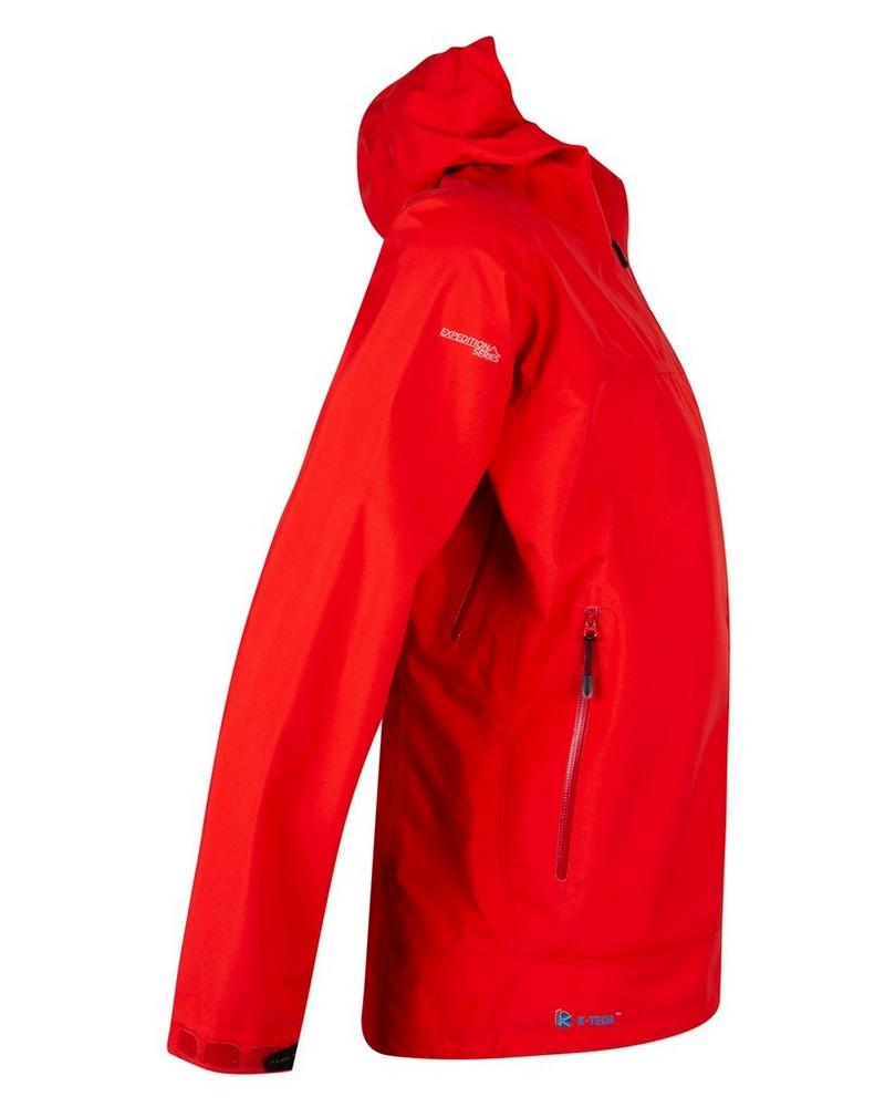 K-Way Expedition Series Men's Kilimanjaro '19 Shell Jacket  -  tomato