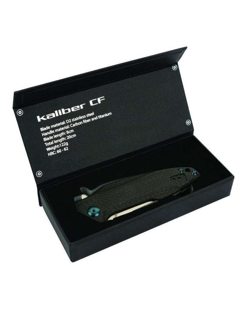 Kaliber CF Foilding Knife -  black