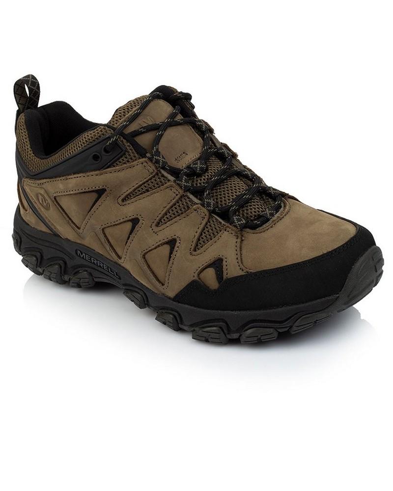 Merrell Men's Pulsate 2 Leather Shoe -  brown-black