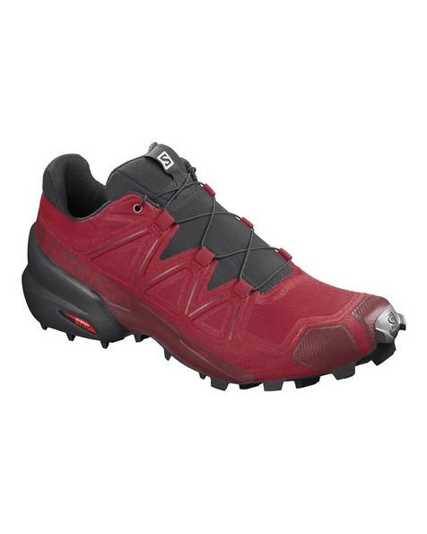 Salomon Men's Speedcross 5 Shoes -  red-black