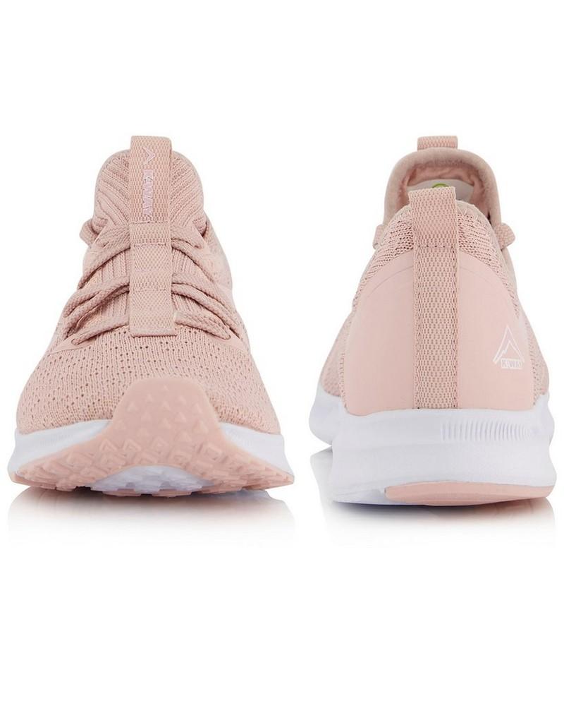 K-Way Women's Urban Lite Shoe  -  pink-white