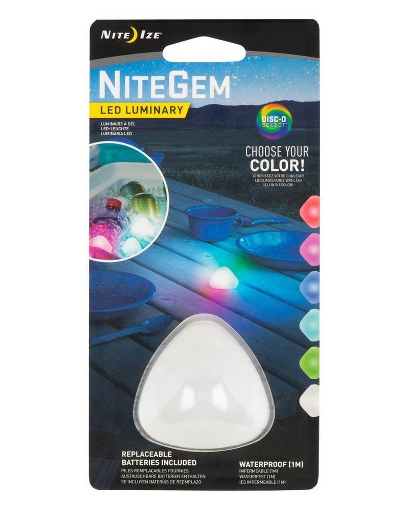 NiteGem™ LED Luminary Disc-o -  assorted