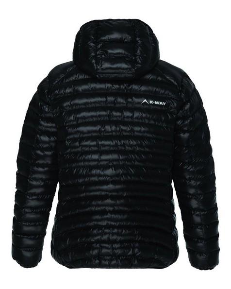 K-Way Raven Eco Padded Jacket Lds -  black