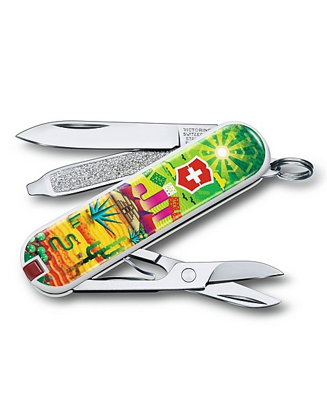 Victorinox Classic Limited Edition Mexican Sunset -  green