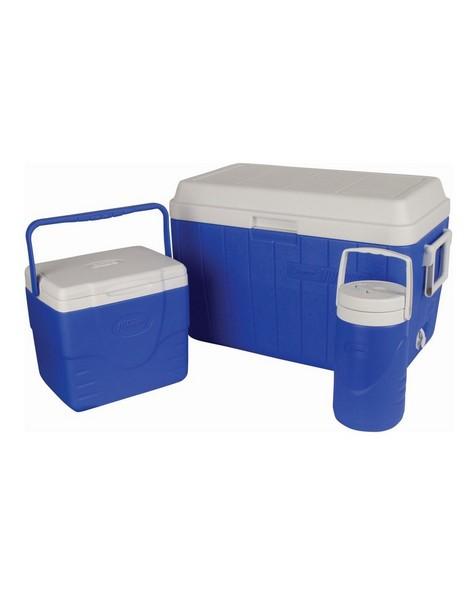 54QT Cooler Box Combo -  blue-white