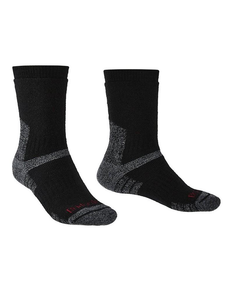 Brigedale Men's Explorer Heavyweight Endurance Sock -  black