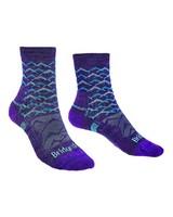 Bridgedale Hike Lightweight Endurance Lds -  purple-aqua
