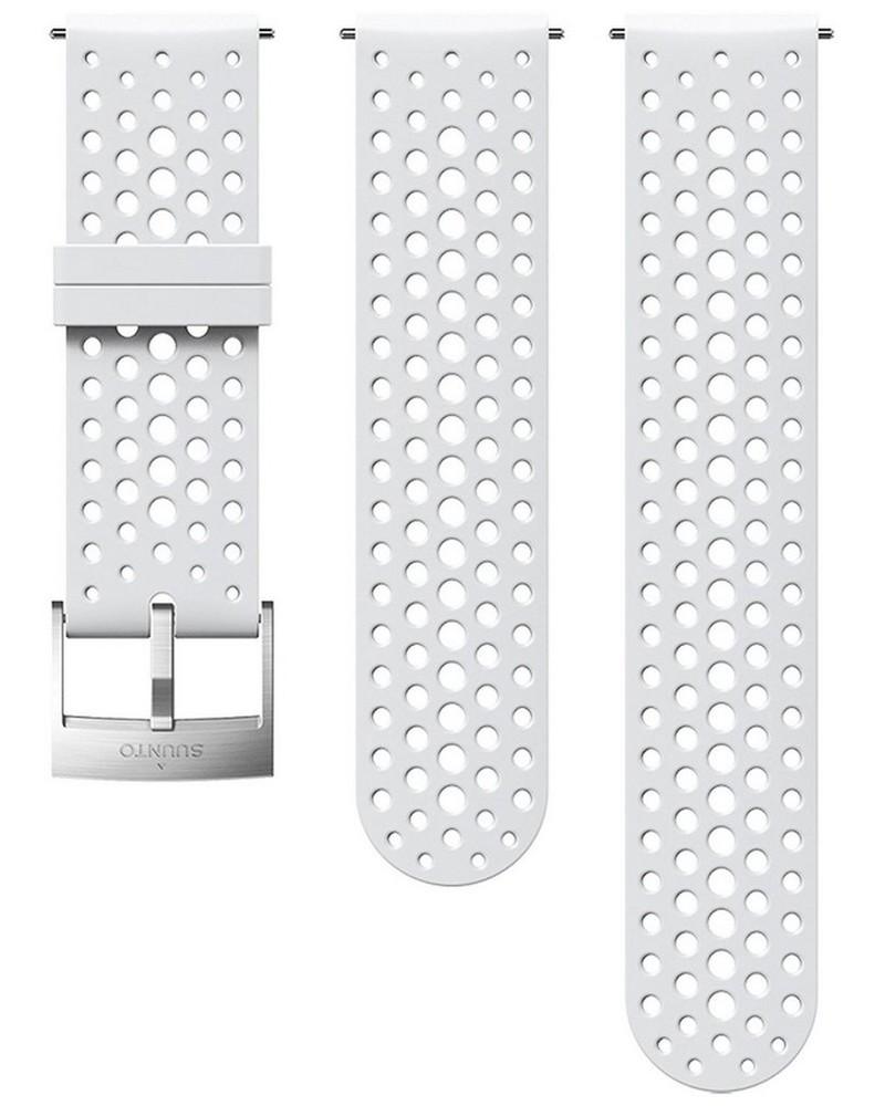 Suunto 24 mm Athletic 1 Silicon Strap -  white