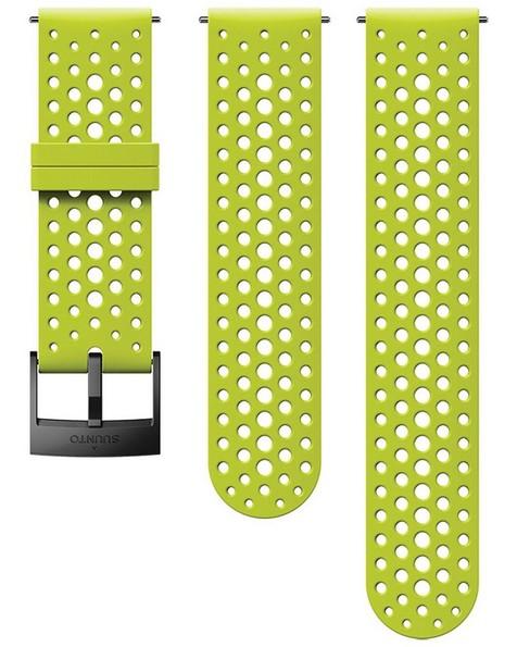 Suunto 24 mm Athletic 1 Silicon Strap -  lime