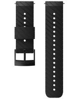 Suunto 24mm Athletic 3 Silicon Strap -  black