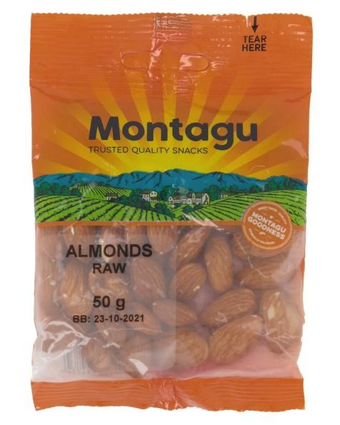 Montagu Almonds Raw -  nocolour