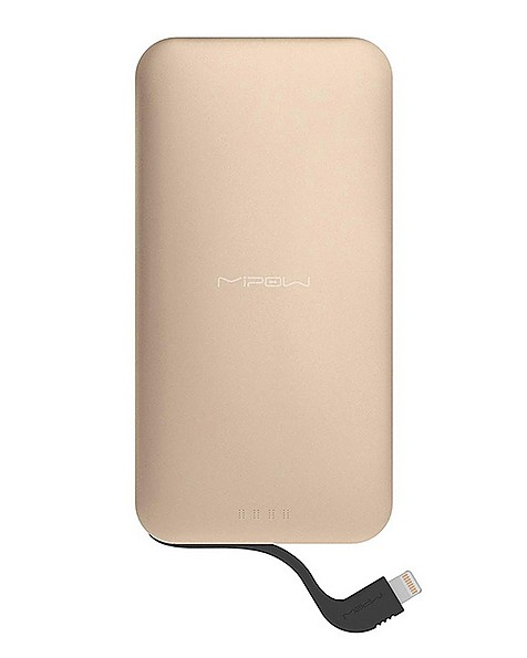 Mipow Power Cube 5 000 mAh with 8pin Connector -  gold