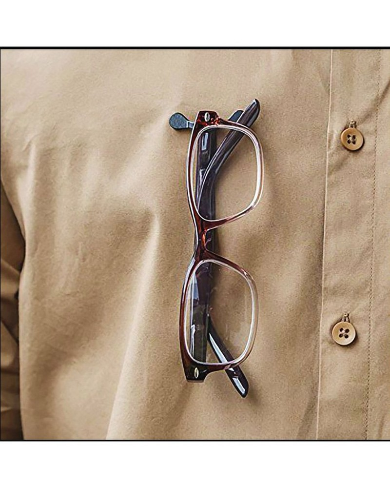 Readerest Stainless Steel Eyeglass Holder -  black