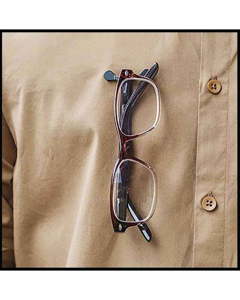 Readerest Stainless Steel Eyeglass Holder -  silver
