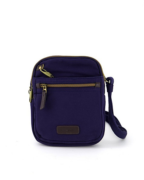 Travelon Anti-Theft Courier Small N/S Slim -  navy