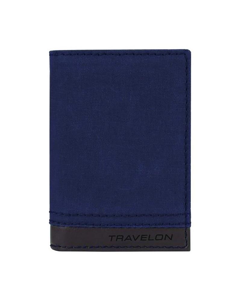 RFID Slim Wallet -  navy