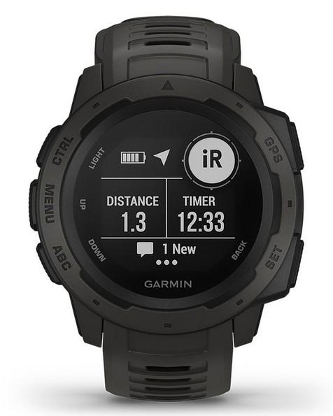 Garmin Instinct Fitness Watch -  graphite