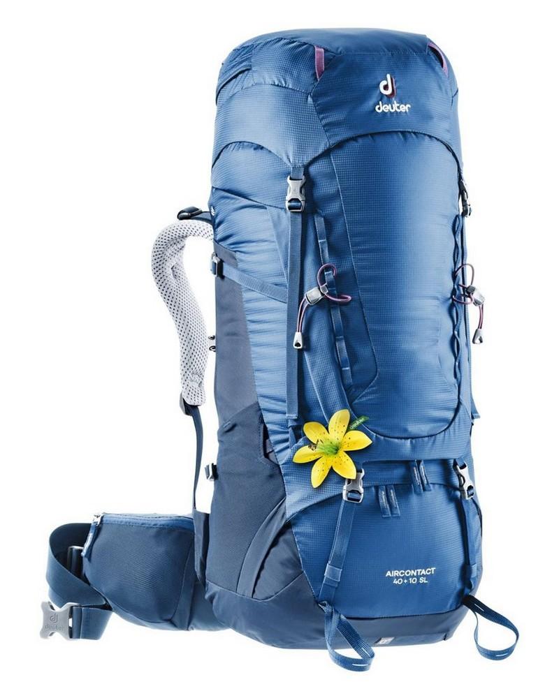 Deuter Aircontact 40 + 10 SL Hiking Pack -  navy