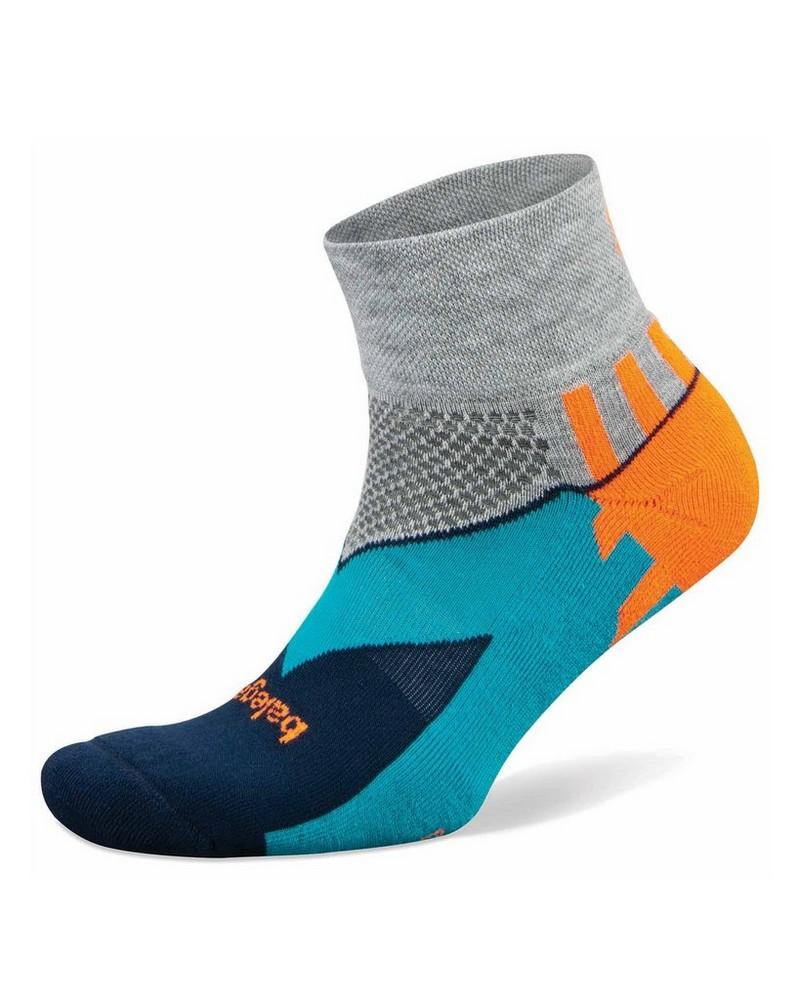 Balega Enduro Quarter Sock -  grey-orange