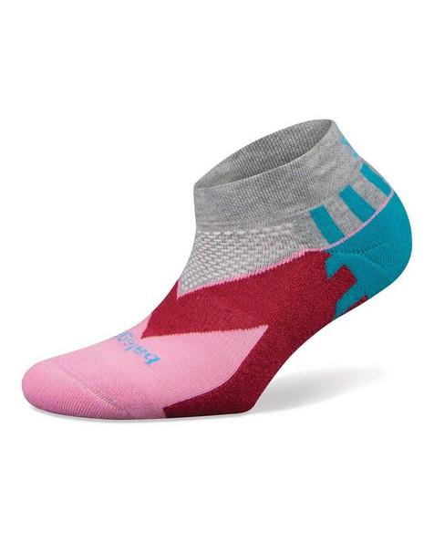 Balega Unisex Enduro Low-Cut Socks -  pink-grey
