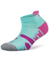 Balega Women's Enduro No-Show Socks -  aqua-grey