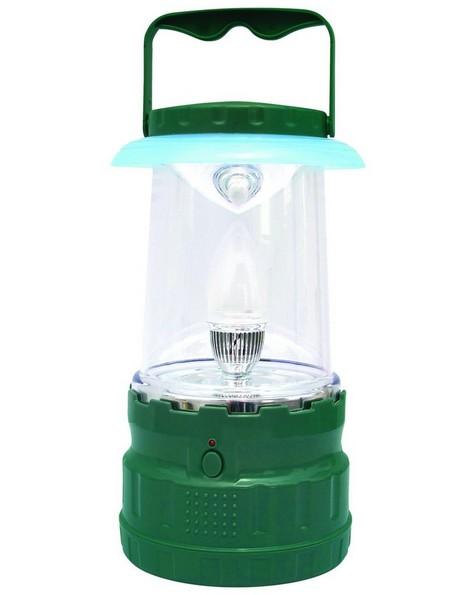 UltraTec Nightingale Rechargeable Lantern -  green