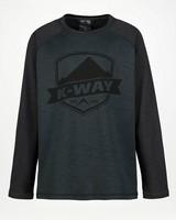 K-Way Mckinley light -  black-darkgreen