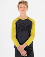 K-Way Kids' Mckinley Lightweight Fleece -  black-ochre