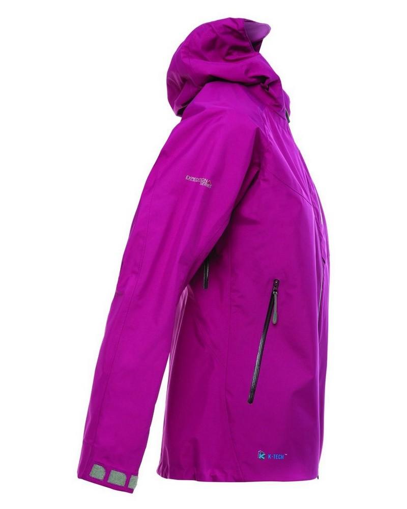 K-Way Expedition Series Women's Kili '19 Shell Jacket -  berry