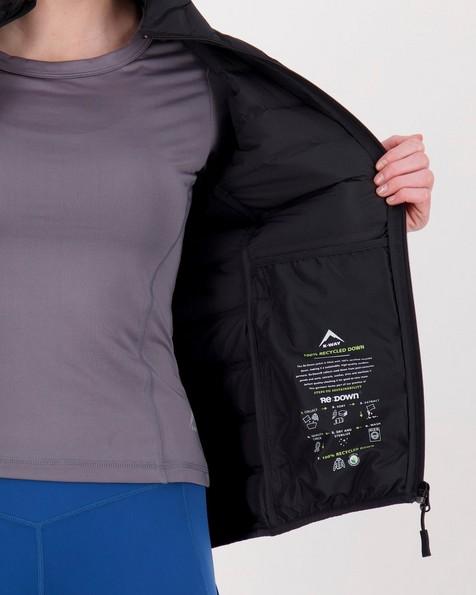 K-Way Women's Ember Re:Down Jacket -  black